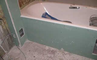 Как сделать открывающийся короб в ванной