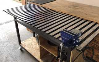 Сварочный стол своими руками пошаговая инструкция