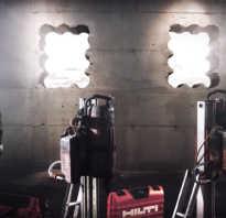 Сверление отверстий в стенах