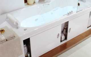 Раздвижные дверцы под ванную своими руками