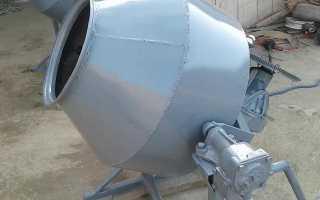 Самодельные бетономешалки ручные электрические